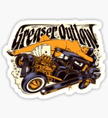 GREASER OUTLAW Sticker
