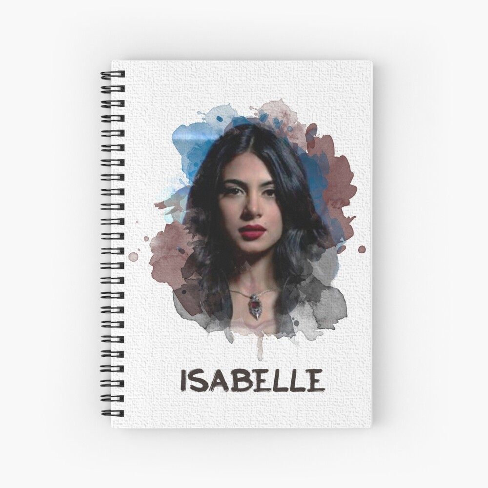 Isabelle - Shadowhunters - Canvas Spiral Notebook