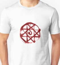 Blood Transmutation circle Unisex T-Shirt