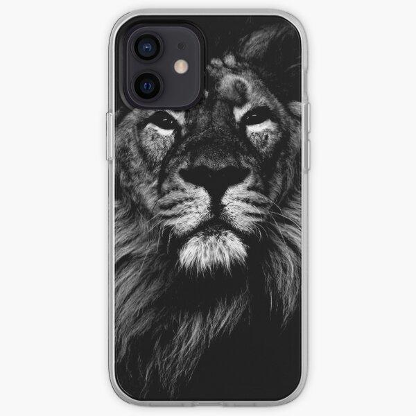 lion, indian lion iPhone Soft Case