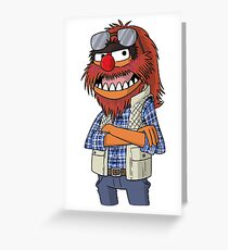 Macgruber - Animal Greeting Card