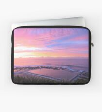 Sunrise over Merewether Ocean Baths Laptop Sleeve