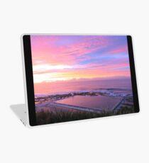 Sunrise over Merewether Ocean Baths Laptop Skin