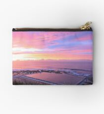 Sunrise over Merewether Ocean Baths Studio Pouch