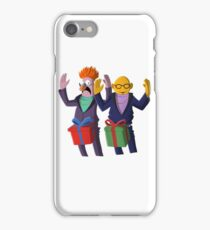 Beaker & Dr Bunsen - Dick in a box iPhone Case/Skin