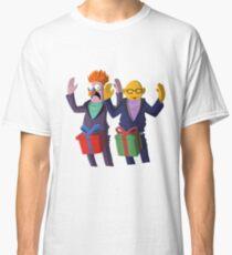 Beaker & Dr Bunsen - Dick in a box Classic T-Shirt