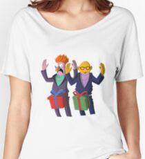 Beaker & Dr Bunsen - Dick in a box Women's Relaxed Fit T-Shirt