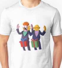 Beaker & Dr Bunsen - Dick in a box Unisex T-Shirt