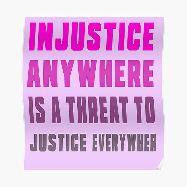 martin luther king jr direct quotes,  education equality, martin luther king jr justice quotes Poster