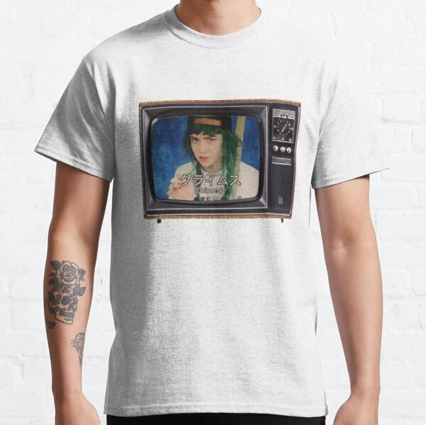 Grimes Japanese Television Classic T-Shirt