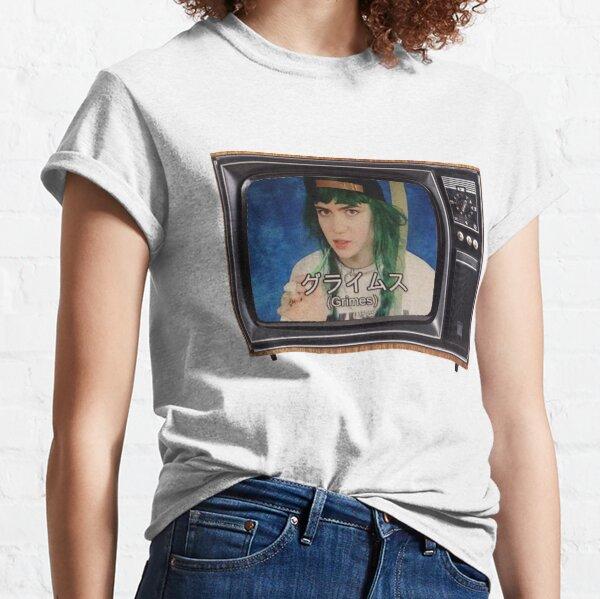 Télévision japonaise Grimes T-shirt classique
