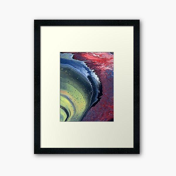 Satan's Tidepool Framed Art Print