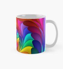 Rainbow Fractal Spiral  Mug