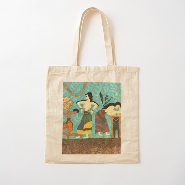 The Tiryns Ring Cotton Tote Bag