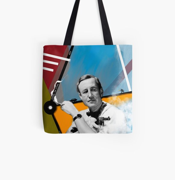 Fleming Ian Fleming All Over Print Tote Bag