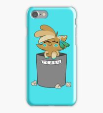 Trash - Parchment iPhone Case/Skin