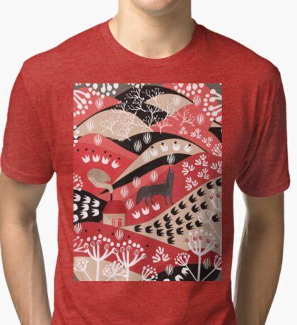 Wolf's Promise Land Tri-blend T-Shirt