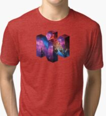 Galaxy N64 Tri-blend T-Shirt