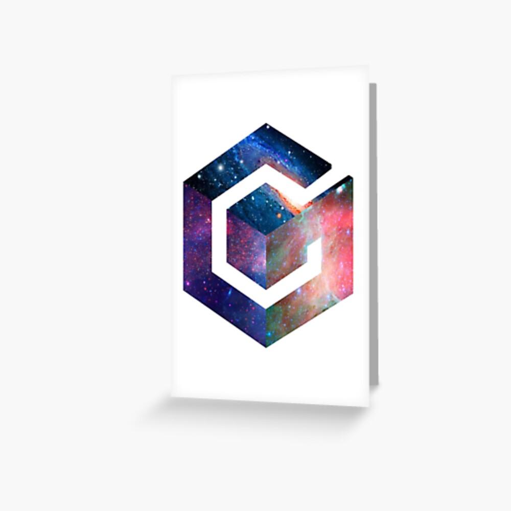 Logotipo de Galaxy GameCube Tarjetas de felicitación