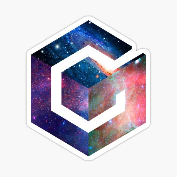 Galaxy GameCube Logo Sticker