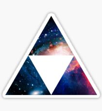 Galaxy Tri-Force Sticker