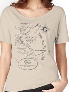 Go To Narnia Map Women's Relaxed Fit T-Shirt
