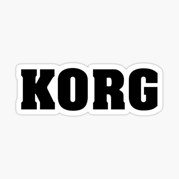 Black Korg Sticker