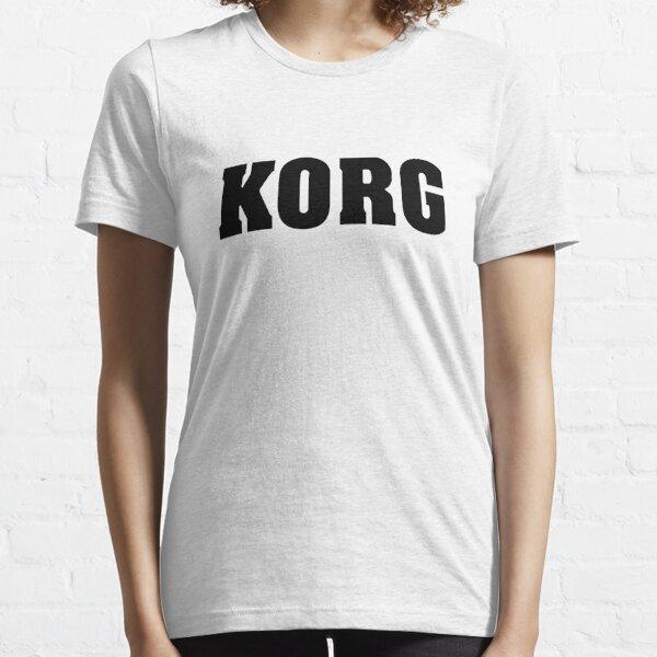 Black Korg Essential T-Shirt