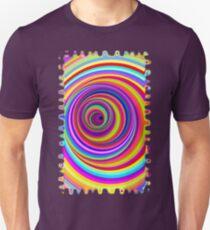 Hypnotic Psychedelic Vertigo Hole Unisex T-Shirt