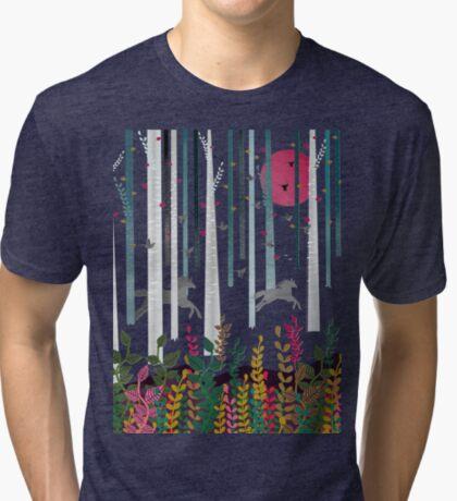 Flying Horses Tri-blend T-Shirt