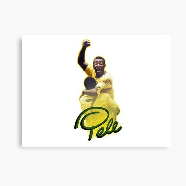 Pele World Cup Brazil Metal Print