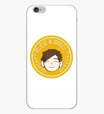 Cheering Mike iPhone Case
