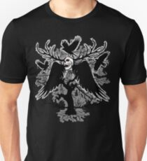 Nightmare Skull and Crows Unisex T-Shirt