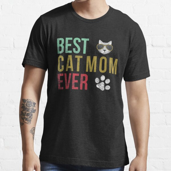 Vintage Best Mom Dad Ever T-Shirt Funny Mommy Essential T-Shirt