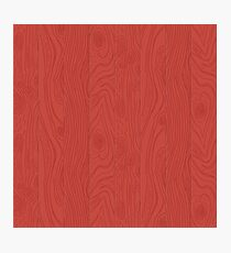 Hand drawn wooden texture Photographic Print