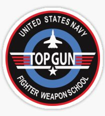United States Navy Fighter Weapons School Top Gun Insignia Sticker