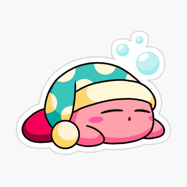 Sleepy Kirby Sticker