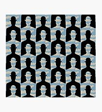"after Rene Magritte pattern ""Decalcomania"" Photographic Print"