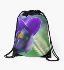 Nature macro Drawstring Bag