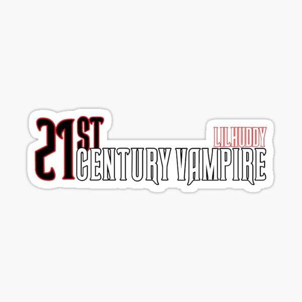 Lilhuddy vampiro del siglo XXI Pegatina