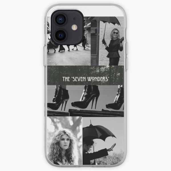 Sept merveilles Coque souple iPhone