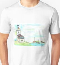 Lighthouse watercolor Unisex T-Shirt