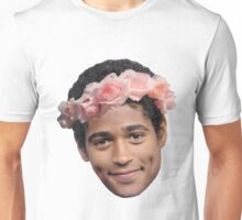 Alfred Enoch Flower Crown Unisex T-Shirt