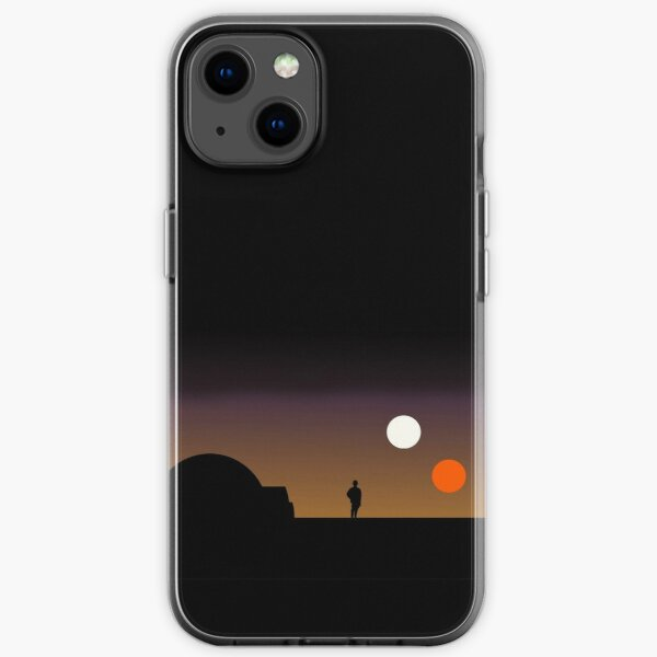 The Double Sunset... iPhone Soft Case
