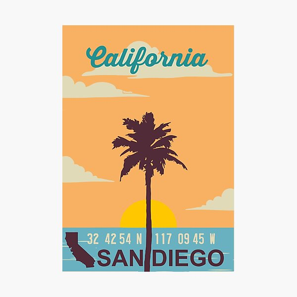 San Diego - California. Photographic Print