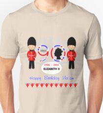 The Queens 90th Birthday Commemorative Design  Unisex T-Shirt