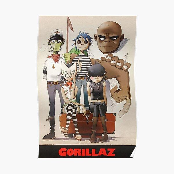 Best - Gorilaz family Poster