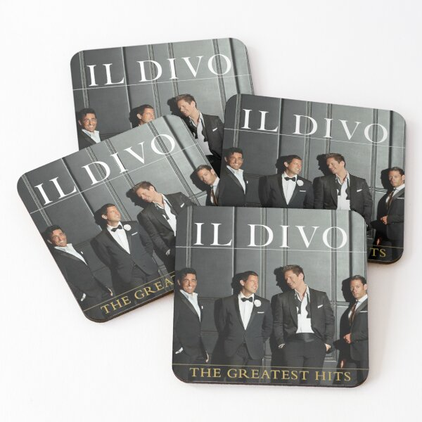 Il Divo greatest hits deluxe Coasters (Set of 4)