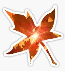 Fall Season Autumn Leaves  Sticker