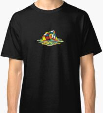 Melted Rubik's Cube Classic T-Shirt